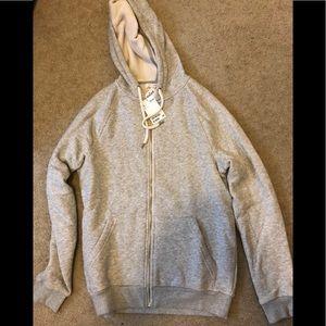 H&m LOGG fleece zip hoodie